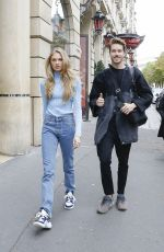 Romee Strijd Out & about in Paris