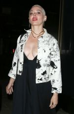 Rose McGowan Partying At Chiltern Firehouse