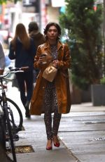 Rowan Blanchard Out for coffee in NYC