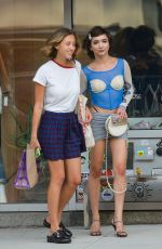 Rowan Blanchard Out with a friend in New York City