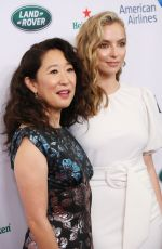 Sandra Oh & Jodie Comer At BAFTA Los Angeles + BBC America TV Tea Party in Beverly Hills