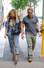 Sarah Jessica Parker Seen heading into The Town Hall in New York