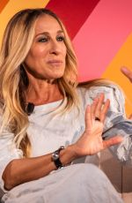 Sarah Jessica Parker Sharing her experience as an entrepreneur at #BlogHer19 Creators Summit at the Expo Center in Brooklyn