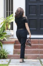 Selena Gomez At a private medical building in LA