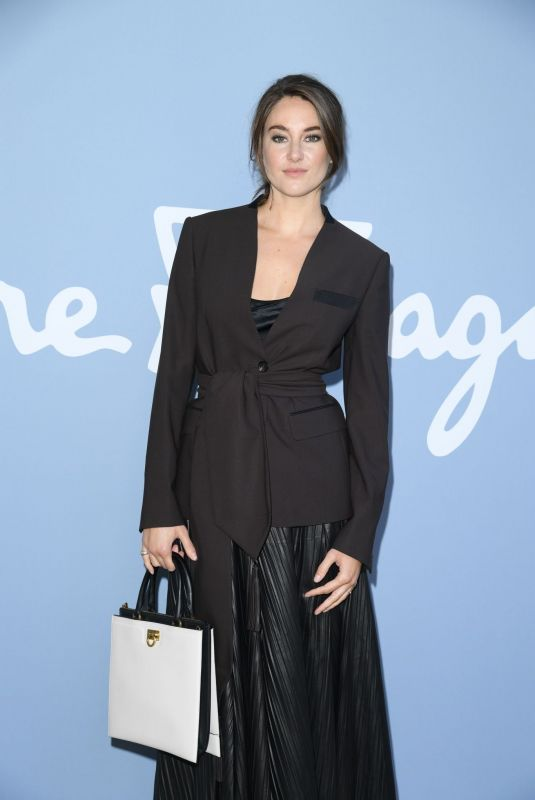 Shailene Woodley At Salvatore Ferragamo Fashion Show in Milan