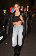 Shanina Shaik Spotted out for the evening in Milan