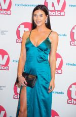 Shelby Tribble At The TV Choice Awards 2019 in London
