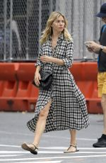 Sienna Miller In New York City
