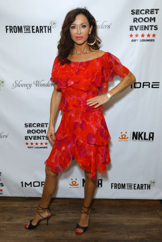 Sofia Milos At the Red Carpet Retreat Lounge - Presented by Secret Room Events held at the InterContinental Los Angeles