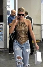 Sofia Richie Heads to her car after a trip to the dermatologist in Beverly