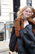 Sophie Rundle Filming the new BBC1 thriller The Nest in Glasgow, Scotland