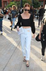 Stacey Dooley Pictured at the House of Holland show during London Fashion Week