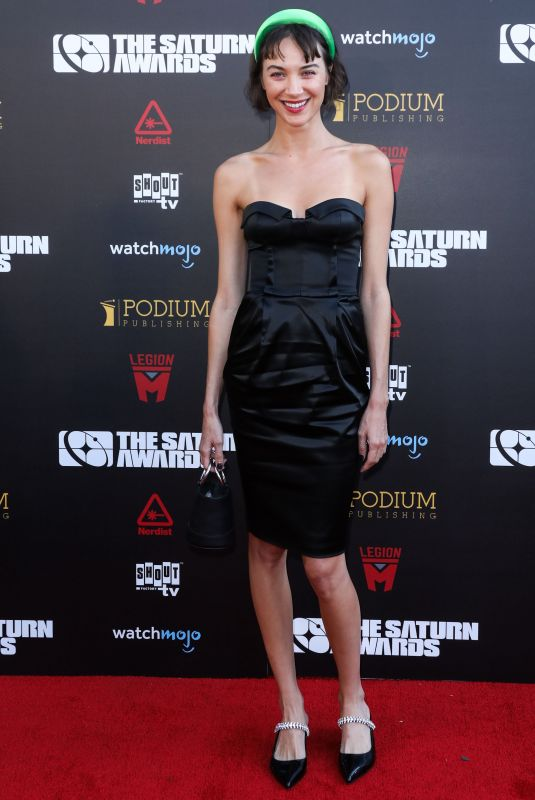Sydney Lemmon At 45th Annual Saturn Awards in Los Angeles