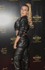 Tallia Storm At Hard Rock Cafe Opening in London