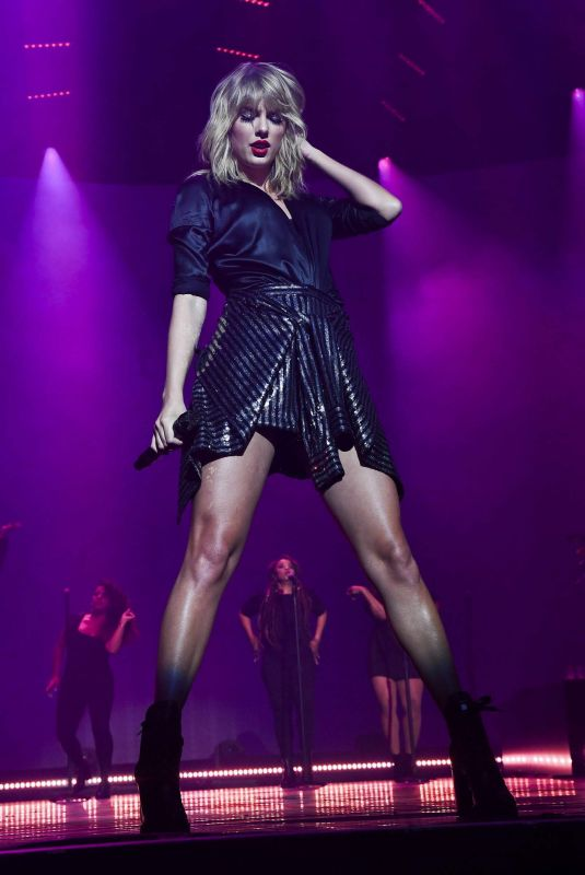 Taylor Swift Performs during the