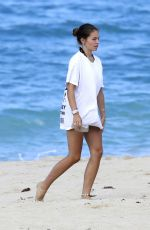 Thylane Blondeau On the beaches of St Barts