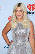 Tori Spelling At iHeartradio Music Festival Las Vegas at T-Mobile Arena