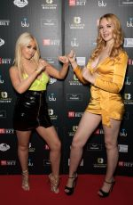 Victoria Clay Attends the Ultimate Boxxer 5 at Indigo at The O2 in London