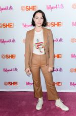 Violett Beane At #BlogHer19 Creators Summit at Brooklyn EXPO Center, New York