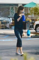Zooey Deschanel Goes for a workout session at a gym in Los Angeles