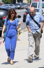 Zooey Deschanel Out in Hollywood