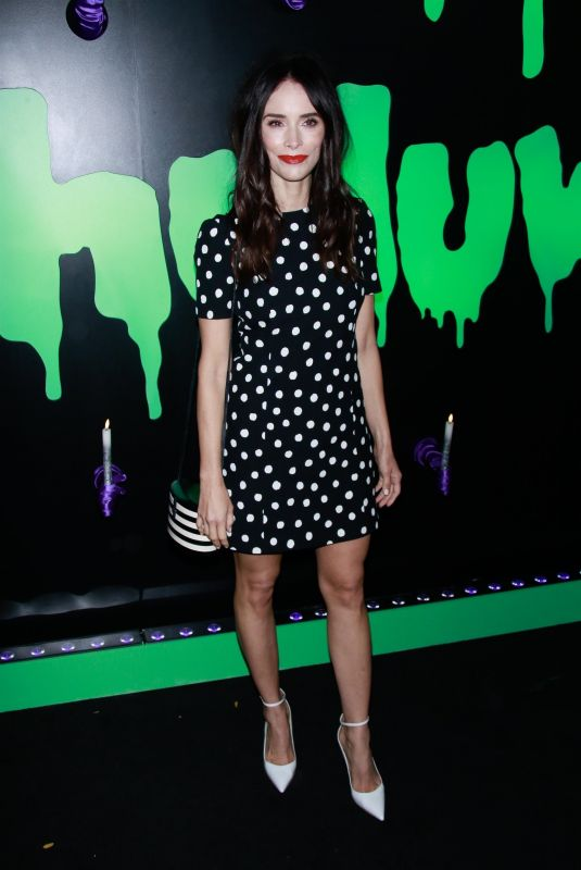 Abigail Spencer At Huluween Party at New York Comic Con