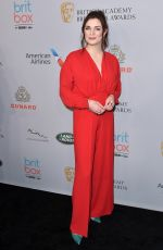 Aisling Bea At British Academy Britannia Awards, The Beverly Hilton, Los Angeles