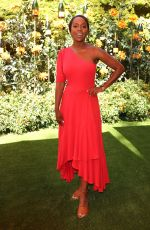 Aja Naomi King At Veuve Clicquot Polo Classic, Will Rogers State Park, Los Angeles