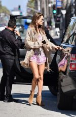 Alessandra Ambrosio Out for lunch in Santa Monica