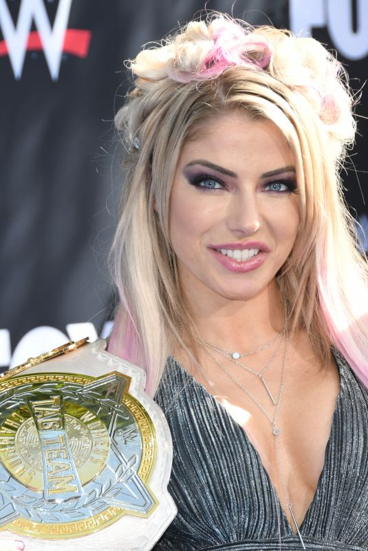 Alexa Bliss At WWE 20th Anniversary Celebration Marking Premiere Of WWE Friday Night SmackDown On FOX