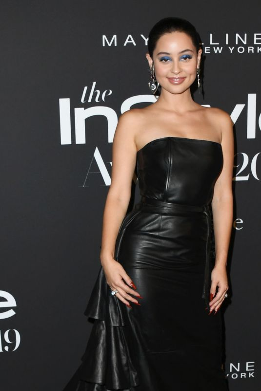 Alexa Demie At Fifth Annual InStyle Awards at The Getty Center in Los Angeles