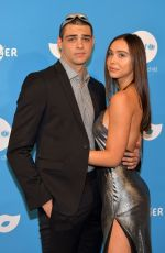 Alexis Ren At UNICEF Masquerade BAll at Kimpton La Peer Hotel in West Hollywood