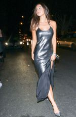 Alexis Ren Leaving the Unicef Masquerade Ball in West Hollywood