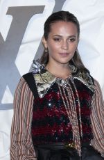 Alicia Vikander At Louis Vuitton Maison Seoul opening in Seoul