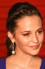 Alicia Vikander At Opening Ceremony of the 32nd Tokyo International Film Festival in Tokyo, Japan