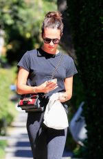 Alicia Vikander Out for a walk in West Hollywood