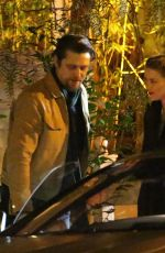 Amber Heard and boyfriend Andy Muschietti have a romantic dinner at the San Vicente Bungalows in West Hollywood