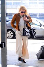 Amber Heard Seen arriving at JFK Airport in New York City