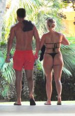 Amber Turner Out in the Spanish sunshine out in Marbella