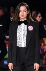 Ana de Armas At Knives Out Premiere at 63rd BFI London Film Festival