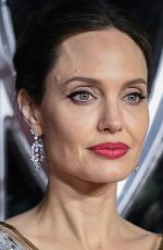 Angelina Jolie At European premiere of