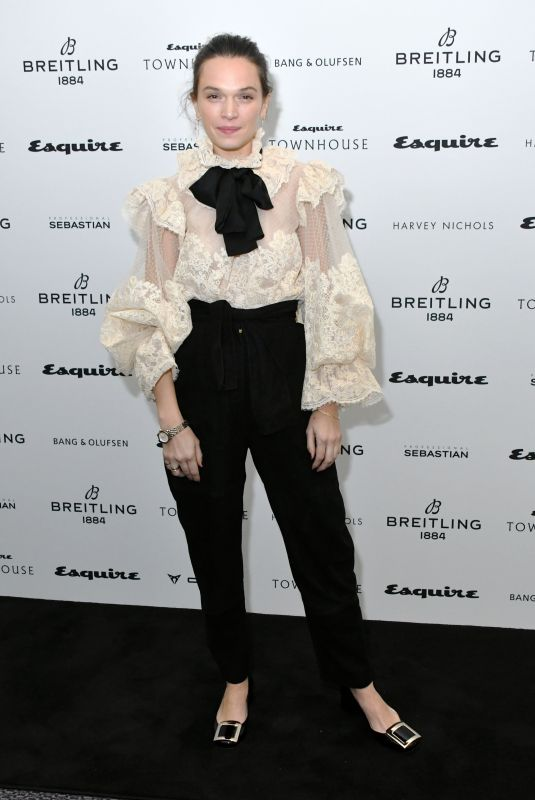 Anna Brewster At Esquire Townhouse with Breitling Launch, London