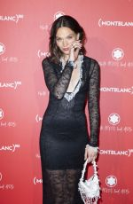 Anna Brewster At Montblanc Launch Collection To Benefit RED