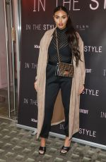 Anna Vakili Attends the press launch for The Style, The Power Edit at EL&N Cafe in London