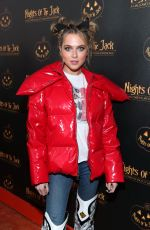 Anne Winters At Nights of the Jack Friends & Family Night 2019 in Calabasas