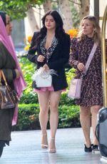 Ariel Winter Gets dolled up for a business function at the Beverly Wilshire Hotel In Beverly Hills