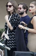 Barbara Palvin Is spotted in Rome with the two supermodels Charli Howard and Sophia Hadjipanteli