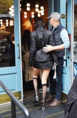 Bella Hadid Celebrates her 23rd birthday at Sadelle