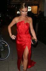 Billie Faiers At The Haven House Ball at The Great Connaught Rooms in Covent Garden in London