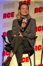 Brie Larson At ACE Comic Con in Rosemont, Illinois